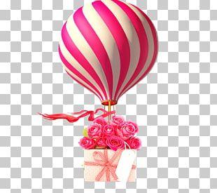 Hot Air Balloon Animation PNG