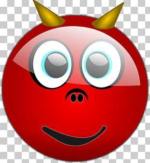 Smiley Emoticon Devil Emoji PNG