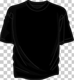 T-shirt Black PNG