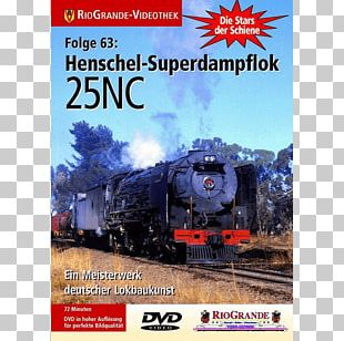 Rail Transport Train Railroad Car Locomotive Hanomag PNG