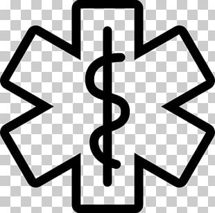 Star Of Life Emergency Medical Services Emergency Medical Technician Certified First Responder Rod Of Asclepius PNG