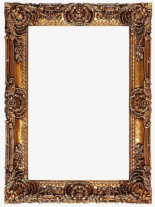 High-definition Oil Painting Frame PNG