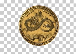 Initial Coin Offering Dragon Coins Blockchain Cryptocurrency PNG