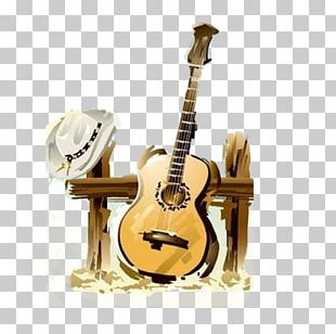 Country Music Drawing PNG
