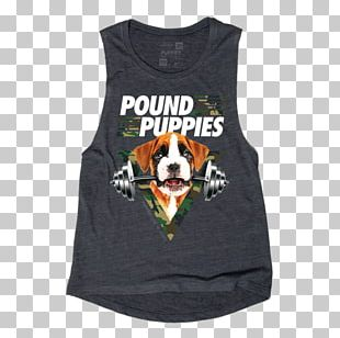 Puppy T-shirt Dog Pound Puppies Gilets PNG