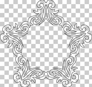 Decorative Arts Line Art PNG