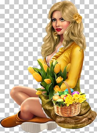 Julie Bell Woman Easter PNG