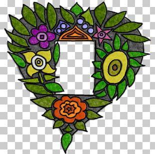 Floral Design Wreath Leaf PNG
