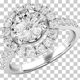 Jewellery Engagement Ring Diamond Brilliant PNG