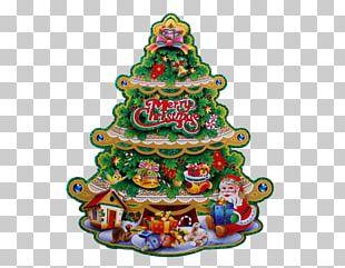 Christmas Tree Santa Claus Christmas Ornament PNG