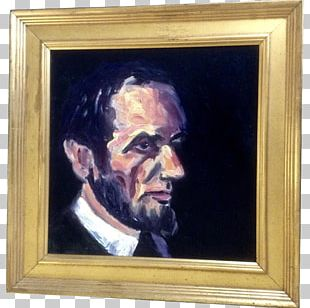 Portrait Of Abraham Lincoln Self-portrait Oil Painting PNG