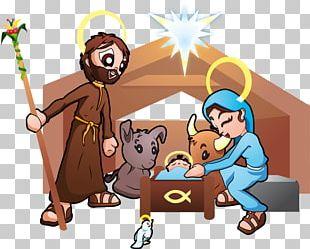 Holy Family Nativity Of Jesus Nativity Scene PNG