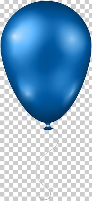 Balloon Blue PNG