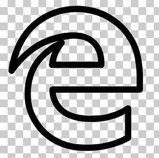 Microsoft Edge Logo Web Browser PNG