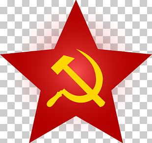 Soviet Union Hammer And Sickle Red Star PNG