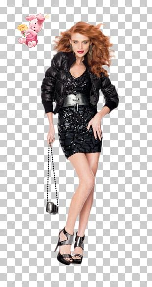 Costume Fashion Model Piglet Photo Shoot PNG
