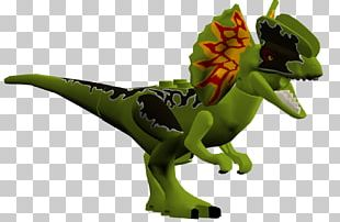 Lego Jurassic World Tyrannosaurus Dilophosaurus Velociraptor Dennis Nedry PNG