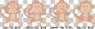 The Evil Monkey Three Wise Monkeys Computer Icons PNG