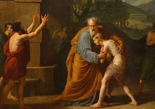 The Return Of The Prodigal Son Painting Parable Of The Prodigal Son Painter Art PNG