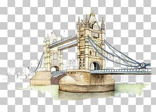 London Bridge Tower Of London Tower Bridge Landmark PNG