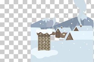 Roof Cartoon House Snow PNG