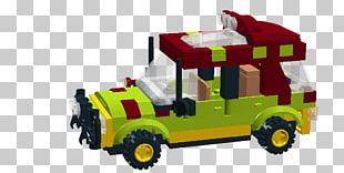Lego Jurassic World Car Jurassic Park Tyrannosaurus PNG