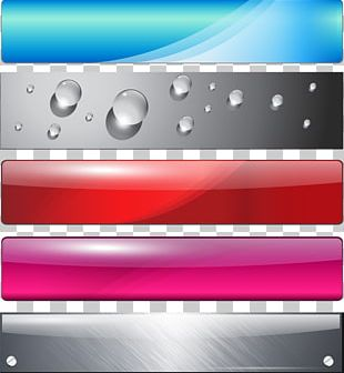 Web Banner Button PNG