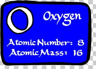 Ecosystem Oxygen Periodic Table Atomic Number Chemical Element PNG