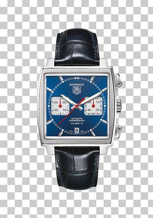 TAG Heuer Monaco Calibre 12 Jewellery Watch PNG