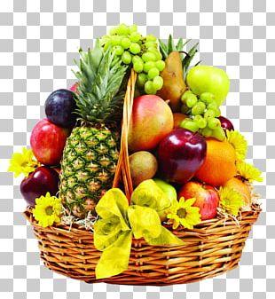 Basket Of Fruit Food Gift Baskets Hamper PNG