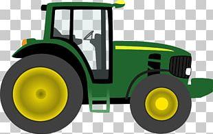 John Deere Tractor PNG