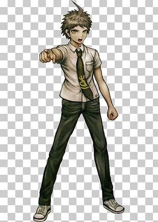 Danganronpa 2: Goodbye Despair Hinata Hyuga Character Art PNG