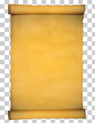 Paper Scroll Parchment PNG