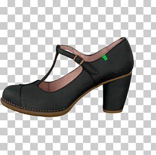 Walking Shoe Pump Black M PNG