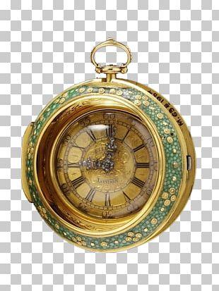 Mantel Clock Pocket Watch Antique PNG