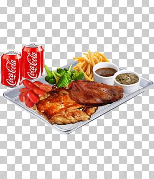 Full Breakfast Chicken Sweet And Sour Cutlet Meat Chop PNG