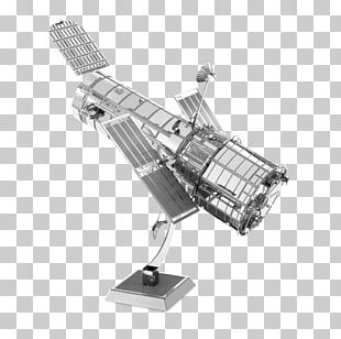 Hubble Space Telescope Low Earth Orbit Space Shuttle Discovery Metal PNG