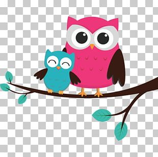 Owl Mother Child PNG