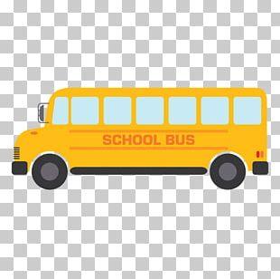 School Bus Cartoon Drawing PNG