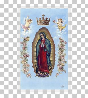 Basilica Of Our Lady Of Guadalupe Prayer Catholic Holy Card PNG
