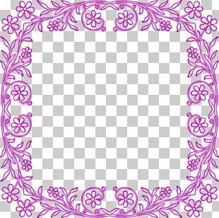 Borders And Frames Frames Floral Design PNG