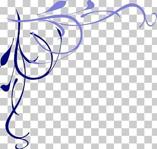 Purple Blue Angle PNG