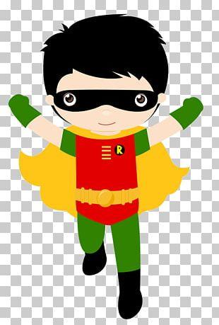 Superhero Robin Superman Batman Iron Man PNG