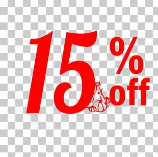 Thanksgiving Sale 15% Off Discount Tag. PNG