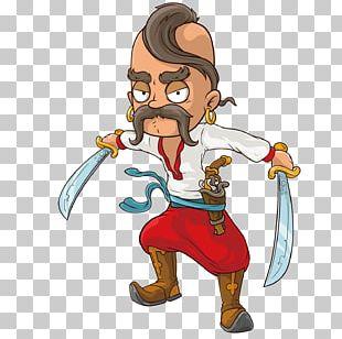 Cartoon Stock Illustration Cossack Illustration PNG