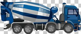 Cement Mixers Motor Vehicle Car Truck Concrete PNG