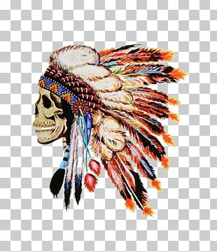 Native Americans In The United States Skull Drawing Bone PNG