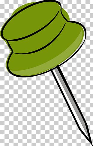 Drawing Pin Open PNG