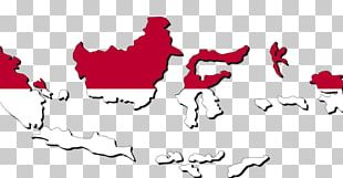 Flag Of Indonesia Blank Map Indonesian National Revolution PNG