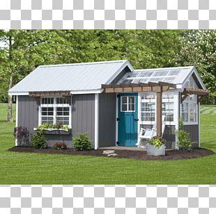 Shed Window Garden House Backyard PNG